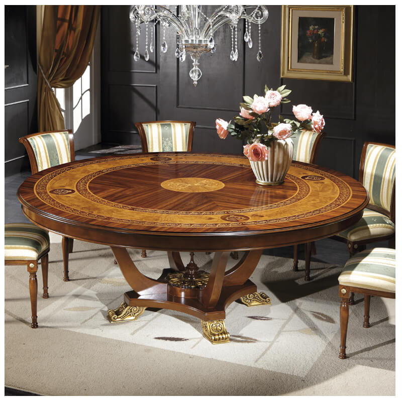Go to Classic. The Ventuno 79 Round Italian Dining Table GV1241   Italy By Web