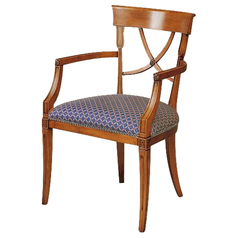 Classic Italian Dining Chairs Gv771p Italy By Web