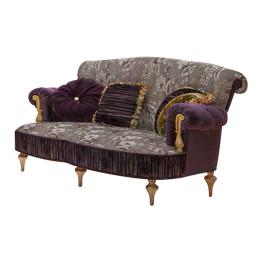 ART.-898-Gold-2-Seat-Sofa